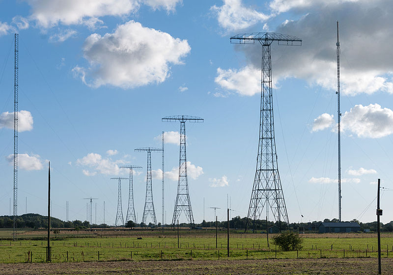 Grimeton VLF masts